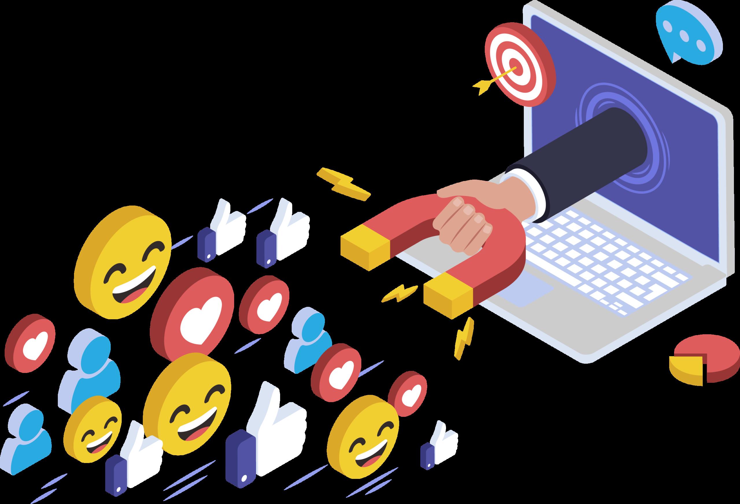 Agência de Marketing Digital no Brasil e em Portugal engajamento